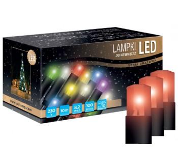 Vánoční LED osvětlení - LED osvětlení vnitřní - klasická, červená, 6 m