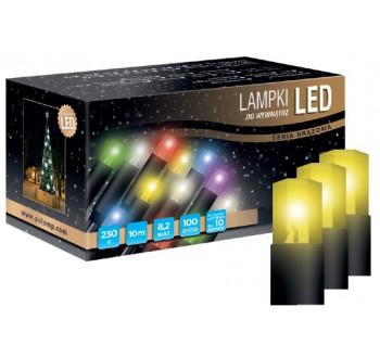 Vánoční LED osvětlení - LED osvětlení vnitřní - klasická, žlutá, 6 m