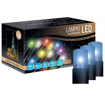 Vánoční LED osvětlení - LED osvětlení vnitřní - klasická, modrá, 10 m