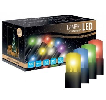 Vánoční LED osvětlení - LED osvětlení vnitřní - klasická, multicolor, 10 m