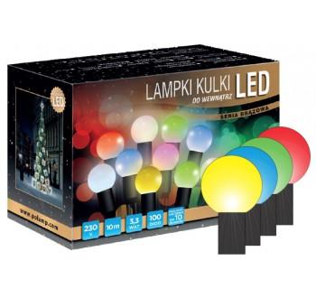 Vánoční LED osvětlení - LED osvětlení vnitřní - koule, multicolor, 10 m
