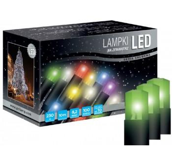 Vánoční LED osvětlení - LED osvětlení univerzální - klasická, zelená, 10 m