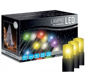 Vánoční LED osvětlení - LED osvětlení univerzální - klasická, žlutá, 10 m