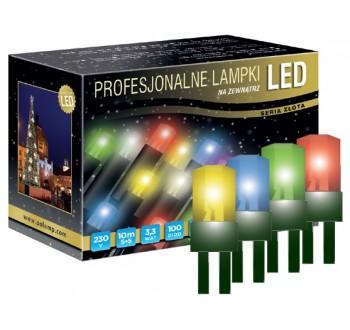 LED osvětlení venkovní - klasická, multicolor, 10 m