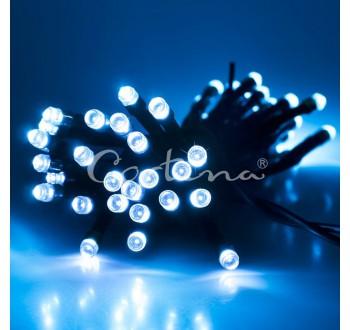Vánoční LED osvětlení - LED osvětlení vnitřní - klasická, st. bílá, 10 m