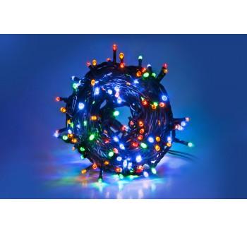 Vánoční LED osvětlení - LED osvětlení vnitřní - klasická, multicolor, 8 m