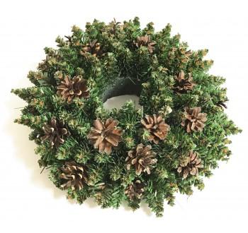 Girlandy a věnce - Vánoční dekorace - Věnec přírodní