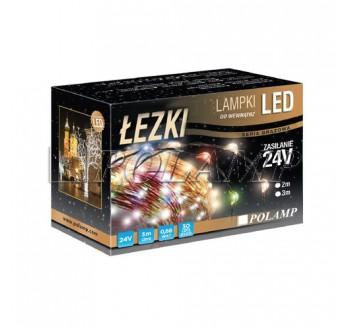 Vánoční LED osvětlení - LED osvětlení vnitřní - slza, multicolor, 3 m