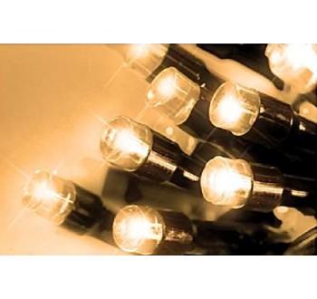 LED osvětlení venkovní - klasická, tep. bílá 20 m, časovač, ovladač