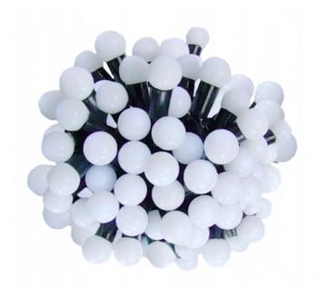 LED osvětlení venkovní - klasická, st. bílá, 7 m