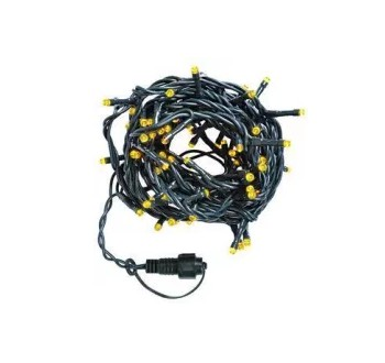 LED osvětlení vnitřní - klasická, žlutá, 5 m