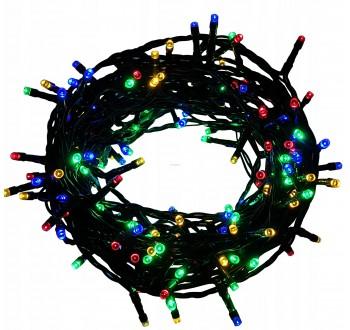 LED osvětlení vnitřní - klasická, multicolor 10 m programátor