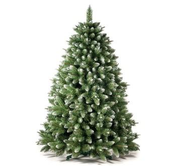 Zrušené produkty - Umělý vánoční stromek - Borovice stříbrná 220 cm