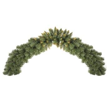 Vánoční dekorace - girlanda zlatá 150 cm