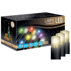 LED osvětlení vnitřní - klasická, tep. bílá, 6 m
