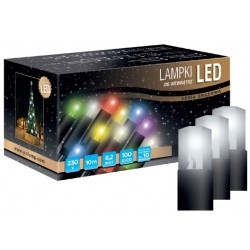 LED osvětlení vnitřní - klasická, st. bílá, 10 m