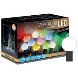 LED osvětlení vnitřní - koule, st. bílá, 10 m