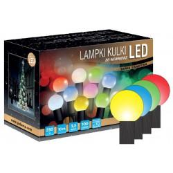 LED osvětlení vnitřní - koule, multicolor, 10 m