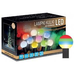 LED osvětlení vnitřní - koule, RGB 10 m