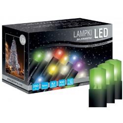 LED osvětlení univerzální - klasická, zelená, 10 m