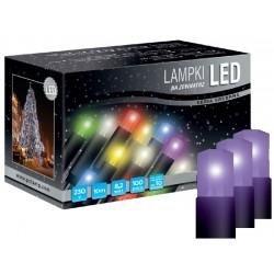 LED osvětlení univerzální - klasická, fialová, 10 m