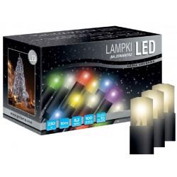 LED osvětlení univerzální - klasická, tep. bílá, 10 m