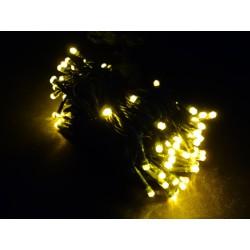 LED osvětlení vnitřní - klasická, žlutá, 10 m