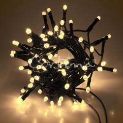 LED osvětlení vnitřní - klasická, tep. bílá, 10 m