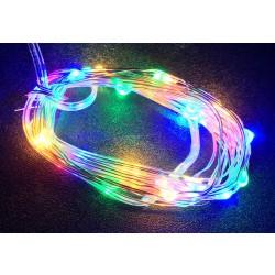 LED osvětlení vnitřní - slza, multicolor, 3 m