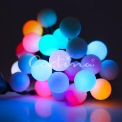 LED osvětlení vnitřní - koule multicolor, 7 m