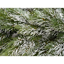 Vánoční girlanda PE Jedle zasněžená 150 cm