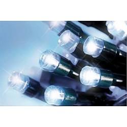 LED osvětlení venkovní - st. bílá 30 m, časovač, ovladač