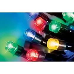 LED osvětlení venkovní - multicol. 30 m, časovač, ovladač