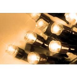LED osvětlení venkovní - tep. bílá 30 m, časovač, ovladač