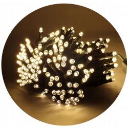 LED osvětlení vnitřní - klasická, tep.bílá 10 m programátor
