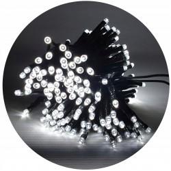 LED osvětlení venkovní - klasická, stud.bílá, 15 m