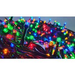 LED osvětlení venkovní - klasická, multicolor, 15 m