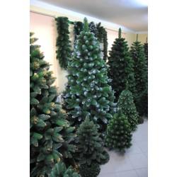 Umělý vánoční stromek - Borovice stříbrná 220 cm