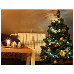 Umělý vánoční stromek - Borovice zlatá 120 cm